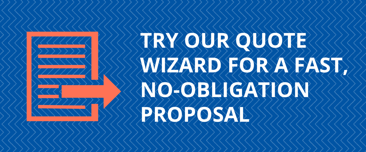 try our quote wizard